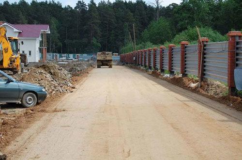 Строительство временных дорог. Стаья